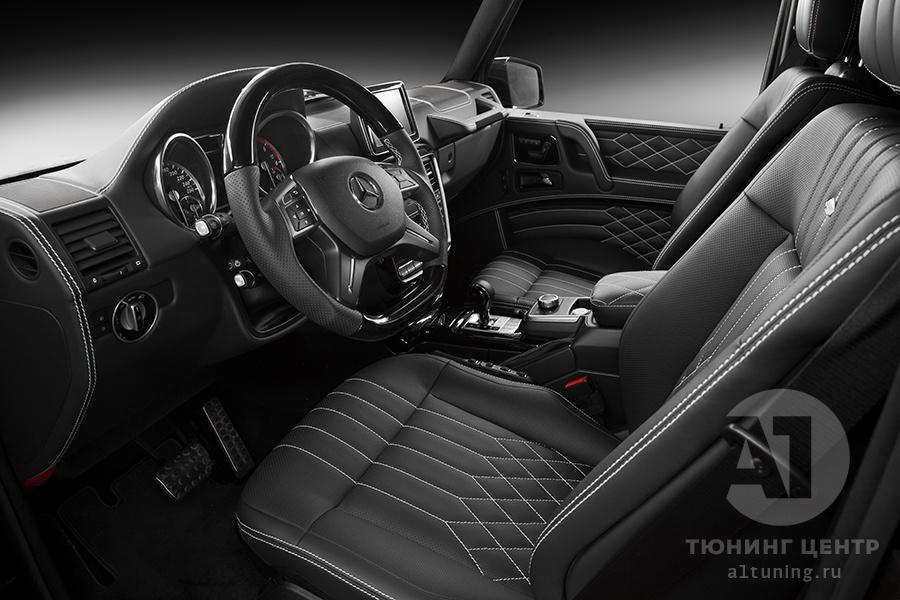 Тюнинг салона Mercedes Benz G-Class. Фото 11, А1 Авто