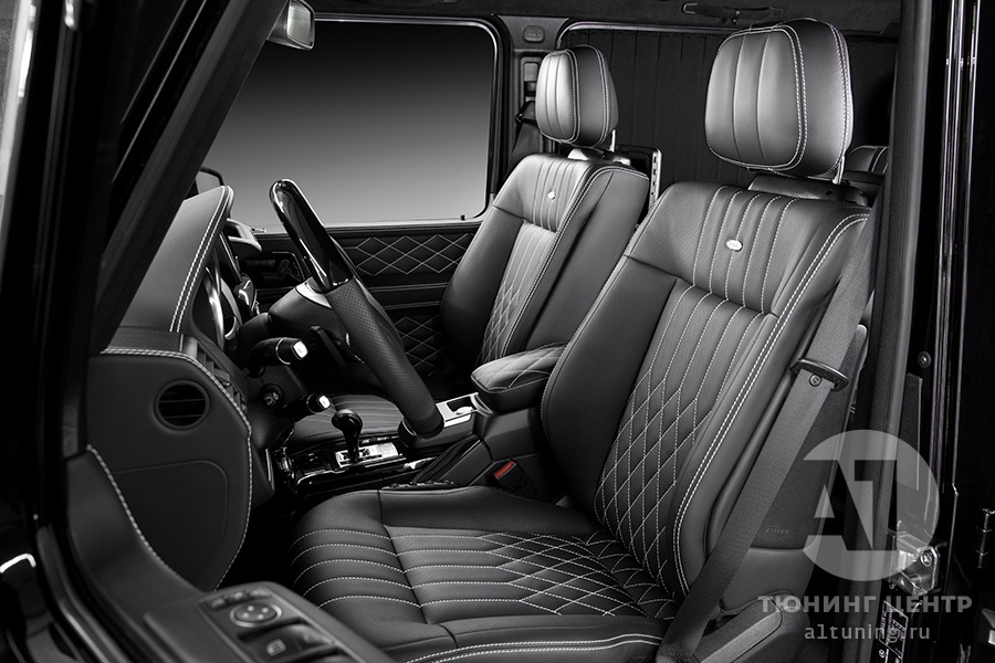 Тюнинг салона Mercedes Benz G-Class. Фото 12, A1 Auto
