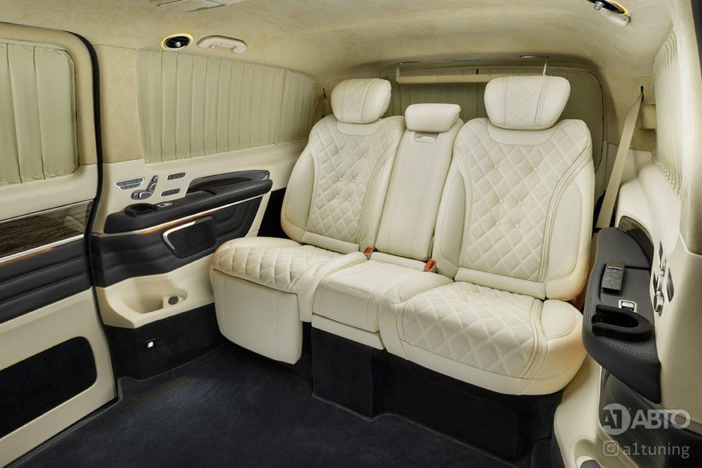 Тюнинг салона Cалон Mercedes Benz V-Class Buisness Jet. Фото 1, А1 Авто
