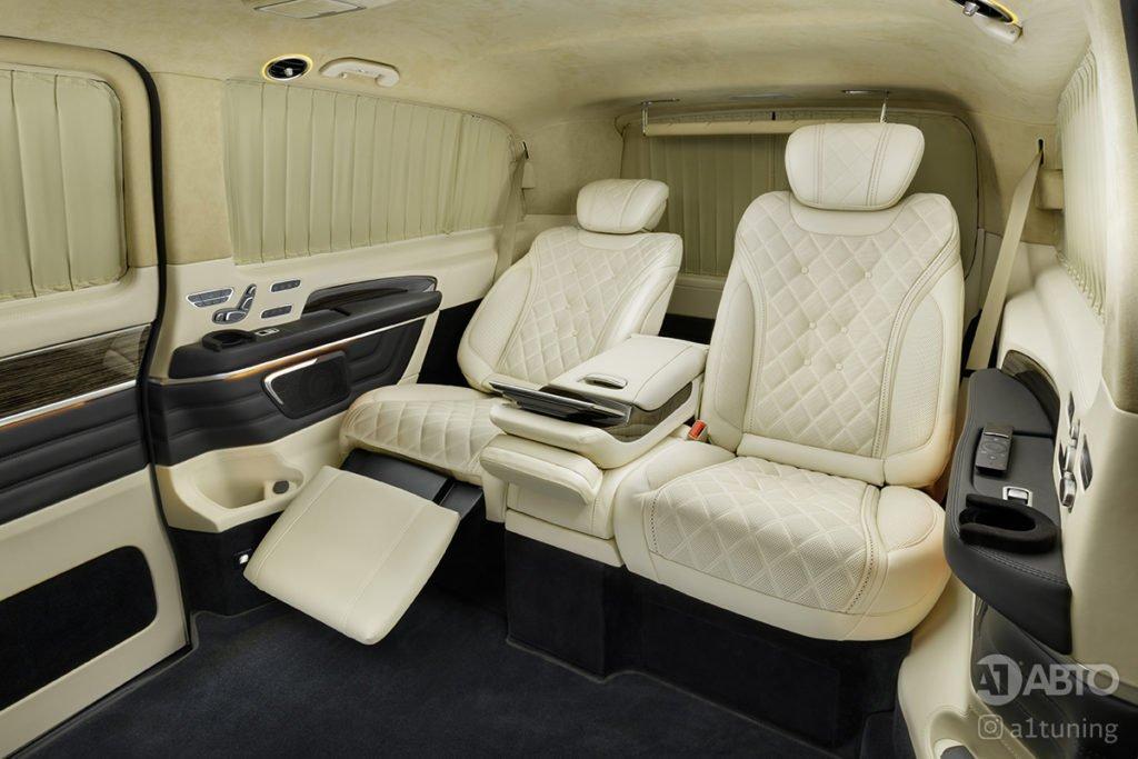 Тюнинг салона Cалон Mercedes Benz V-Class Buisness Jet. Фото 2, А1 Авто