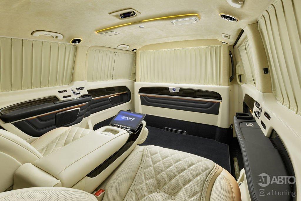 Тюнинг салона Cалон Mercedes Benz V-Class Buisness Jet. Фото 3, А1 Авто
