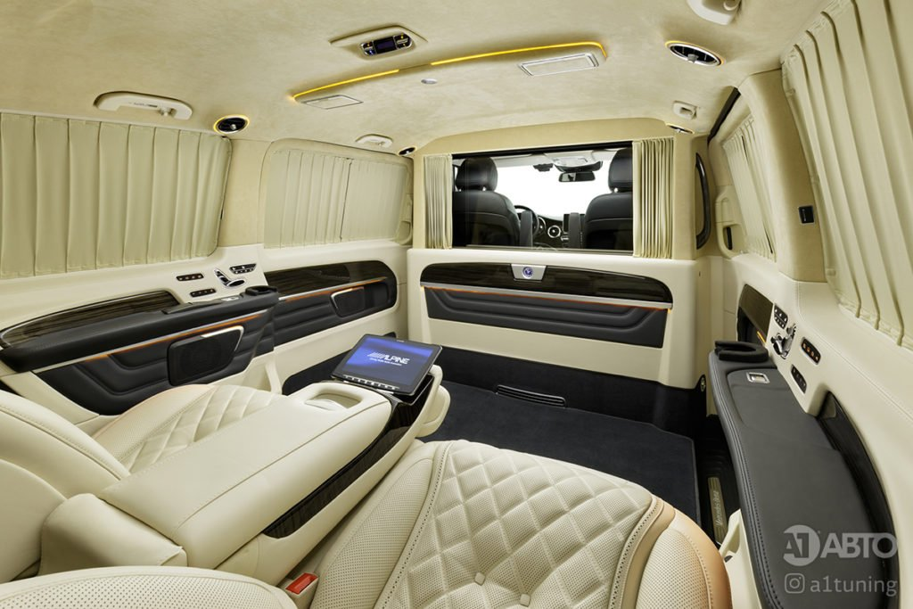 Cалон Mercedes Benz V-Class Buisness Jet. А1 Авто.