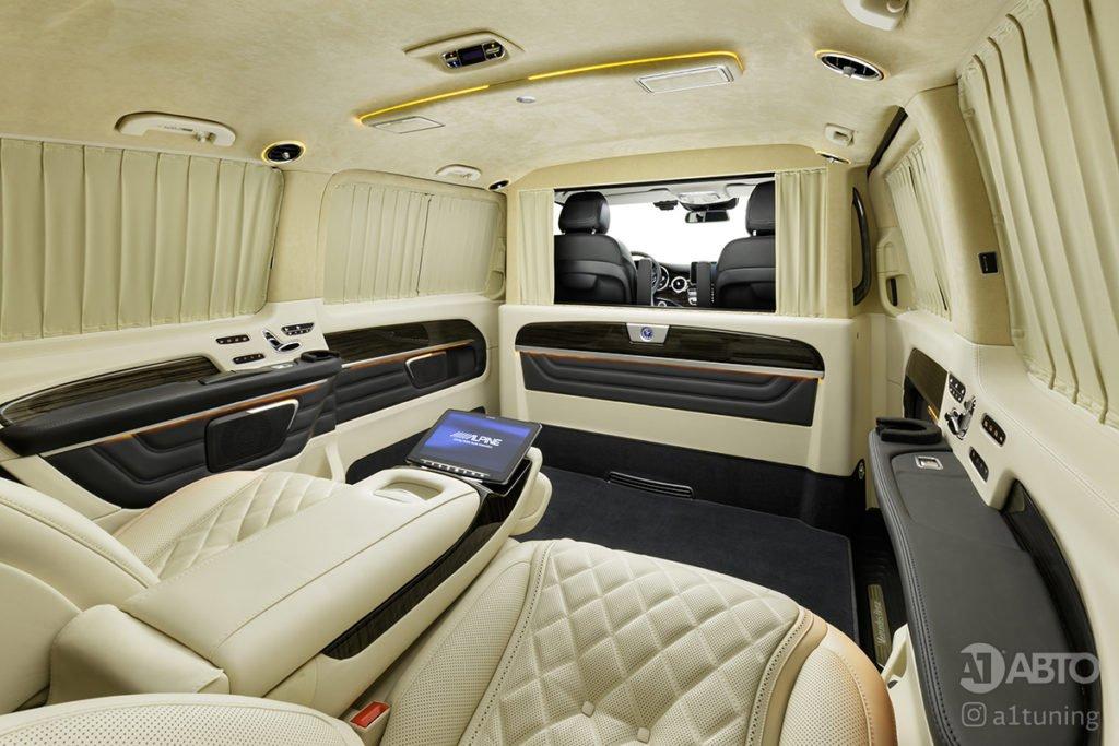 Cалон Mercedes Benz V-Class Buisness Jet. A1 Auto