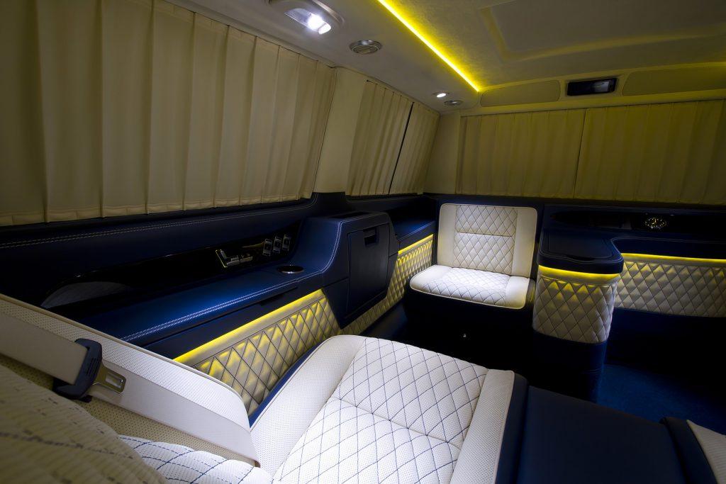 Тюнинг салона Mercedes Benz Viano VIP. Фото 9, A1 Тюнинг Центр