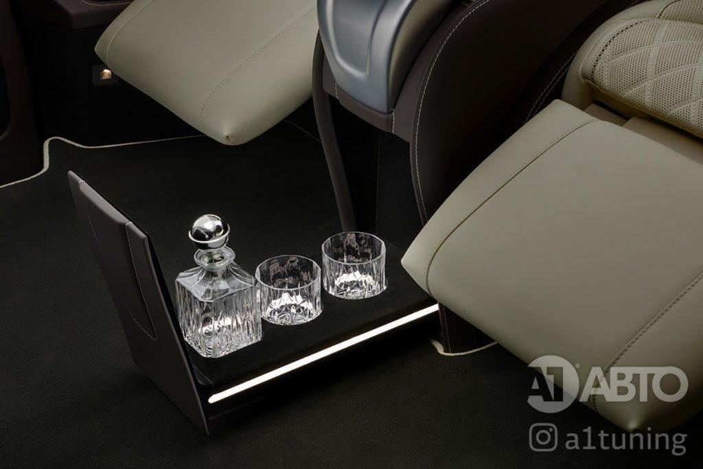 Cалон Mercedes Benz V-VIP. Фото 9, А1 Авто.