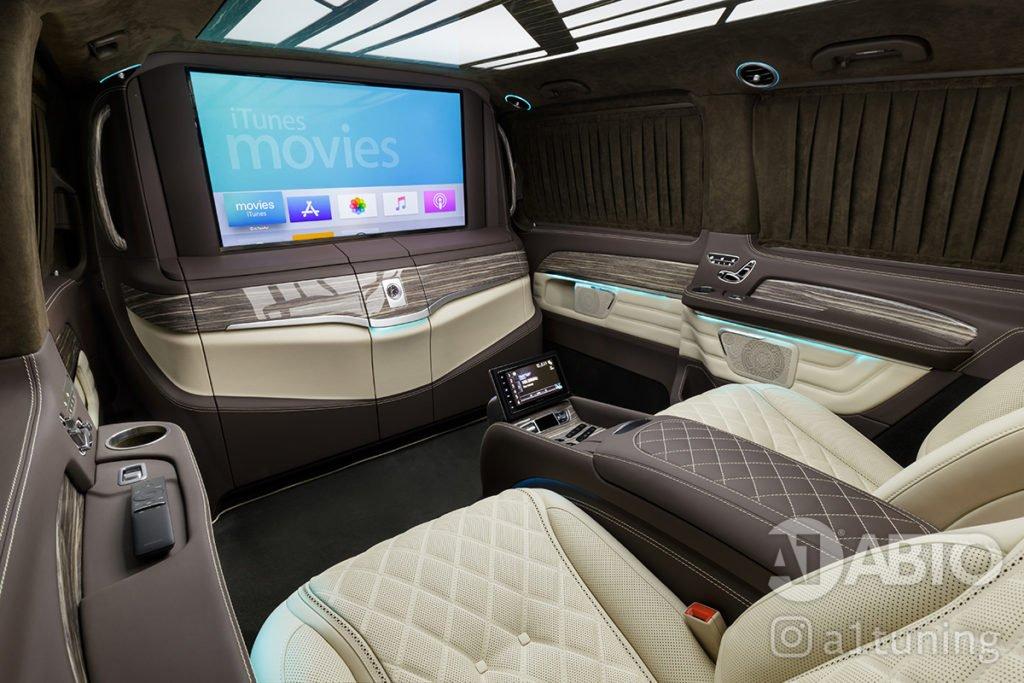 Тюнинг салона Mercedes Benz V-VIP. Фото 4, A1 Auto