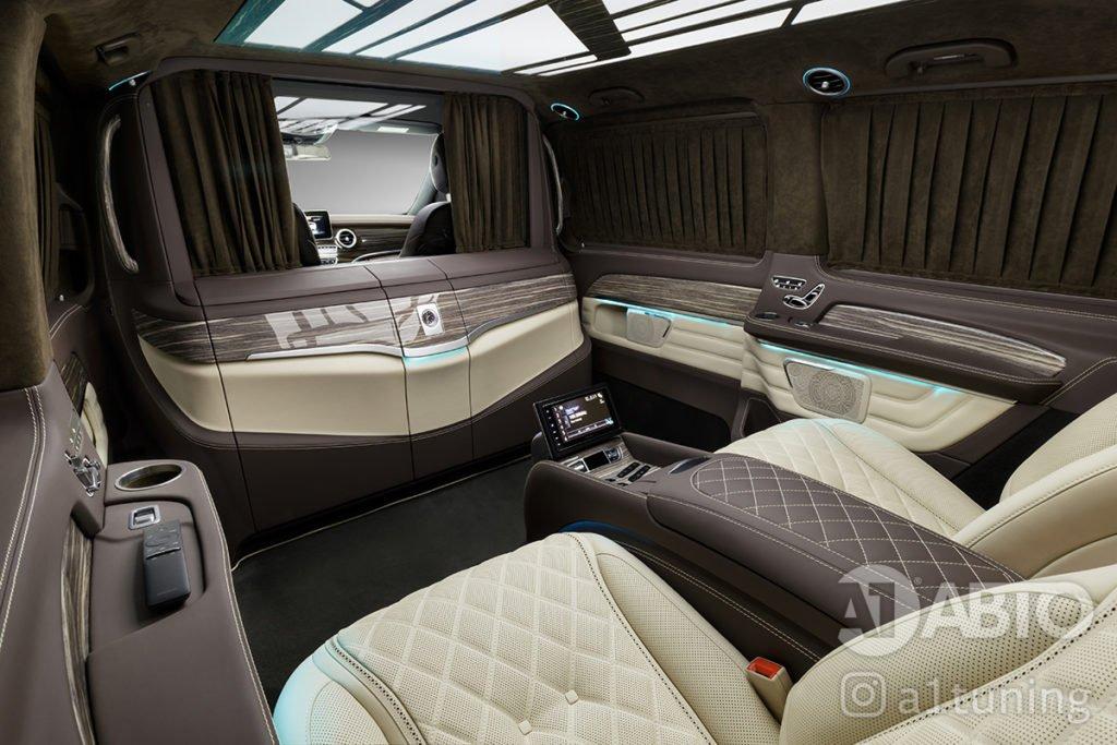 Тюнинг салона Mercedes Benz V-VIP. Фото 5, А1 Авто