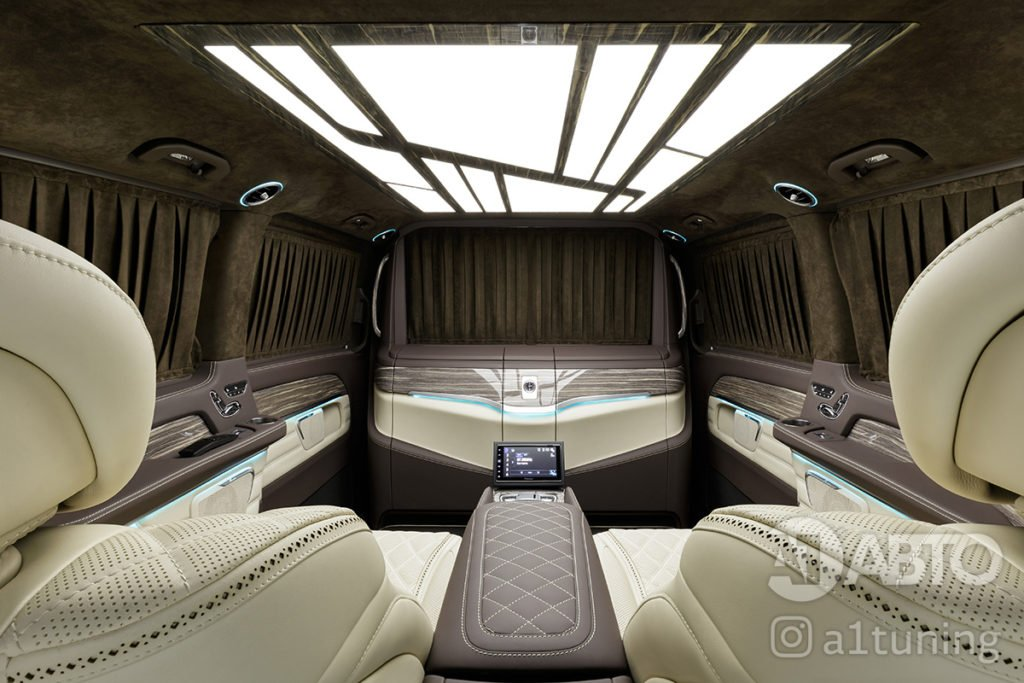 Cалон Mercedes Benz V-VIP. Фото 3, А1 Авто.
