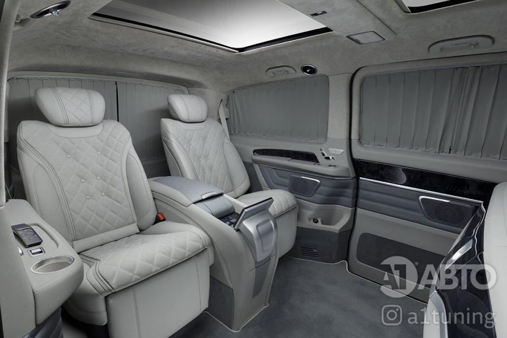 Салон Mercedes Benz V-Class фото 10, А1 Авто