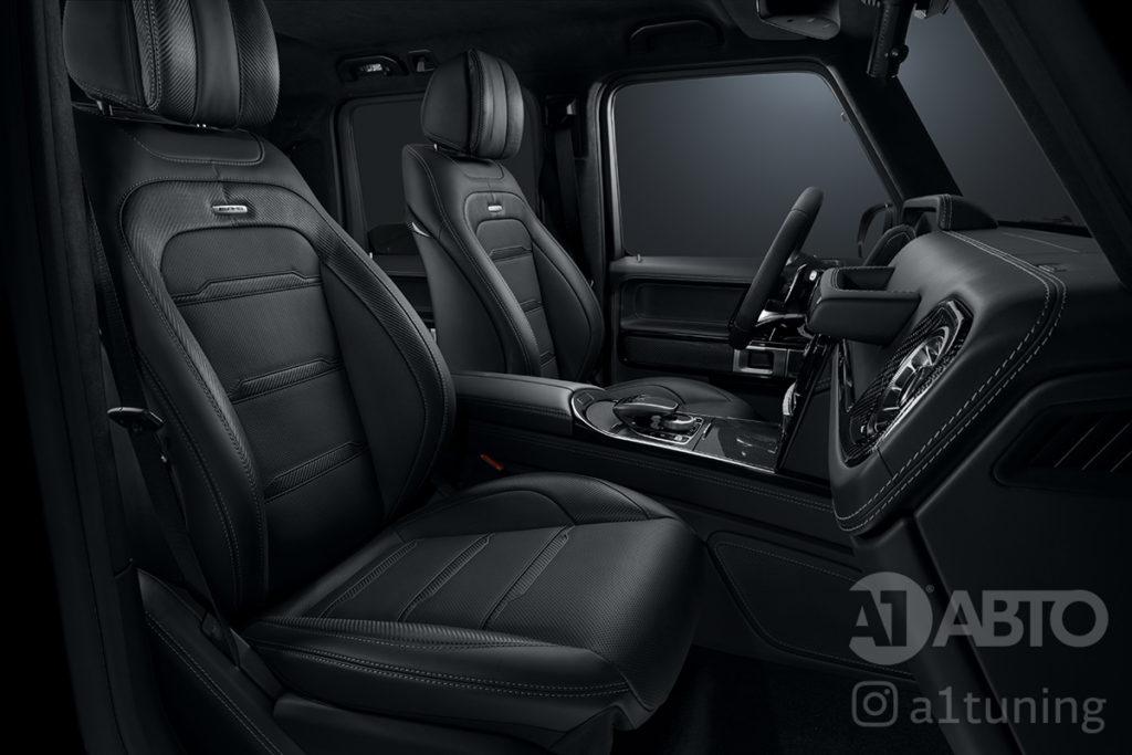 Черный салон Mercedes Benz G-Class. Фото 2 А1 Авто.