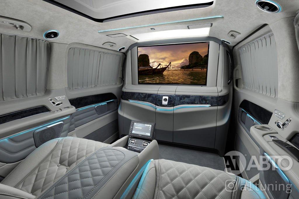 Салон Mercedes Benz V-Class фото 8, А1 Авто