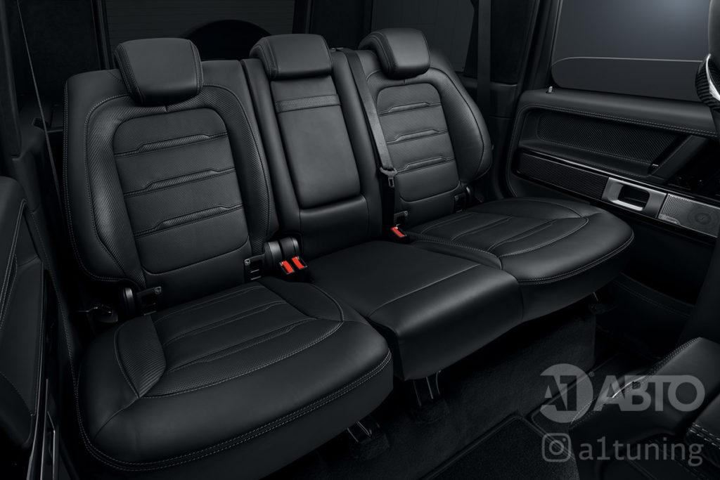 Черный салон Mercedes Benz G-Class. Фото 7 A1 Auto.