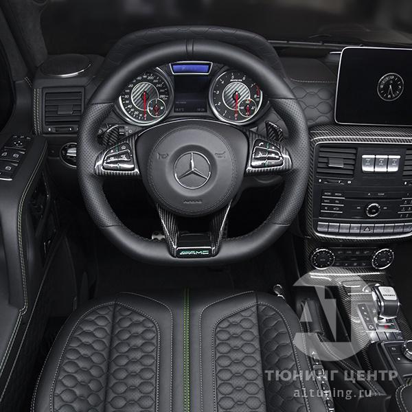 Тюнинг салона Mercedes Benz G-Class. Фото 25, A1 Auto