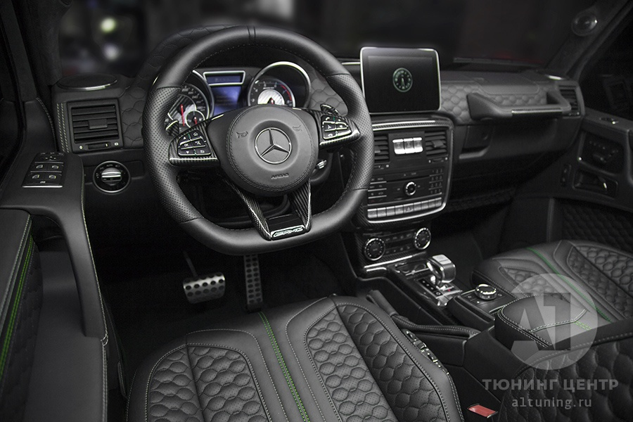 Тюнинг салона Mercedes Benz G-Class. Фото 31, A1 Auto
