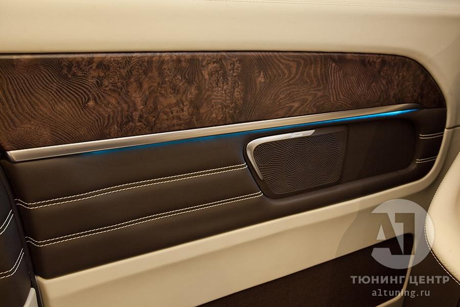 Тюнинг салона Mercedes Benz V-Class. Фото 11, А1 Авто