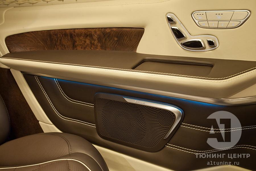 Тюнинг салона Mercedes Benz V-Class. Фото 12, А1 Авто