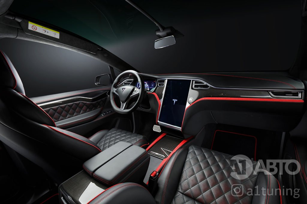 Тюнинг салона Tesla. Фото 1, A1 Тюнинг Центр