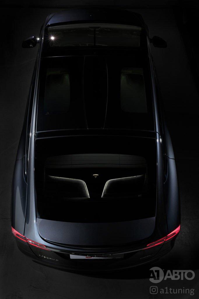 Тюнинг салона Tesla. Фото 5, A1 Тюнинг Центр