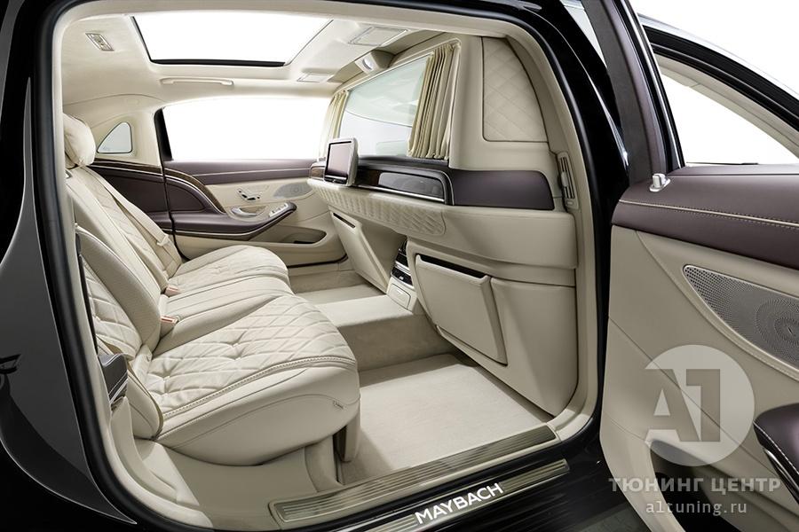 Тюнинг Mercedes Benz Maybach. Фото 2, А1 Авто