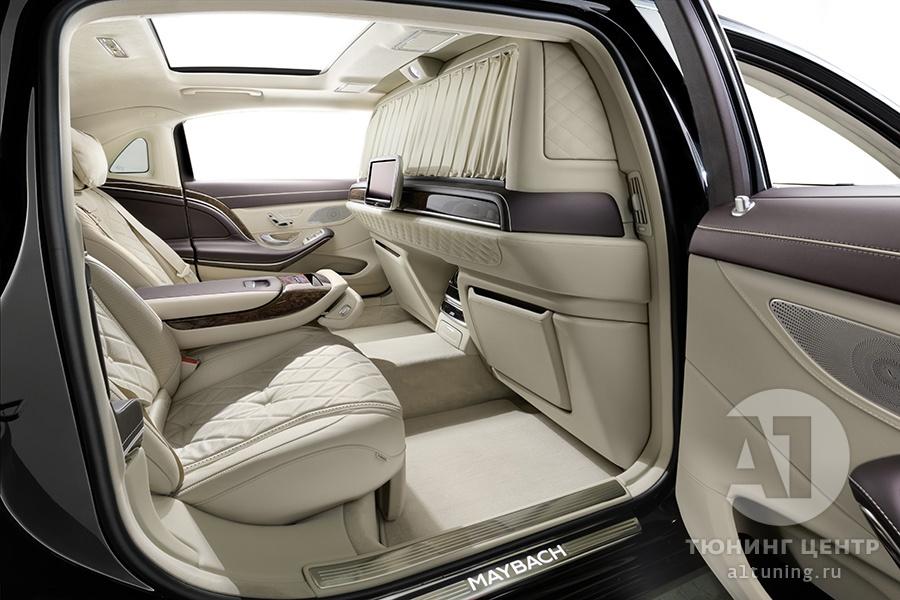 Тюнинг салона Mercedes Benz Maybach. Фото 1, А1 Авто