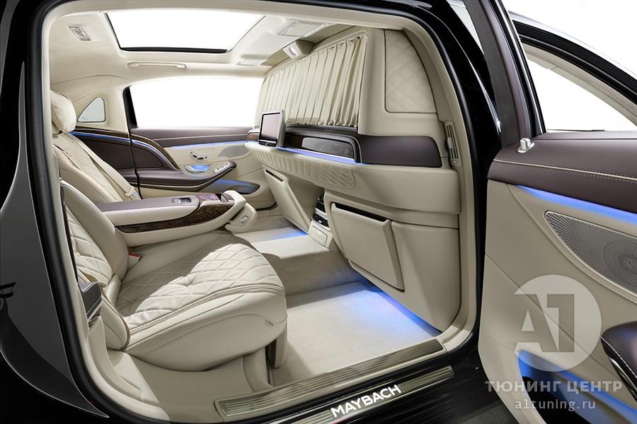 Тюнинг салона Mercedes Benz Maybach. Фото 2, А1 Авто