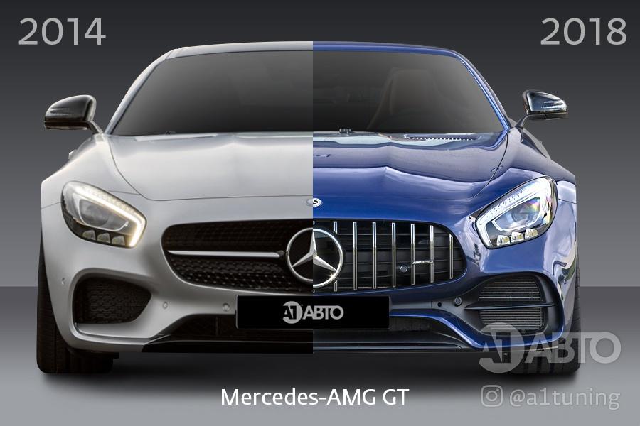 Рестайлинг Mercedes-AMG GT
