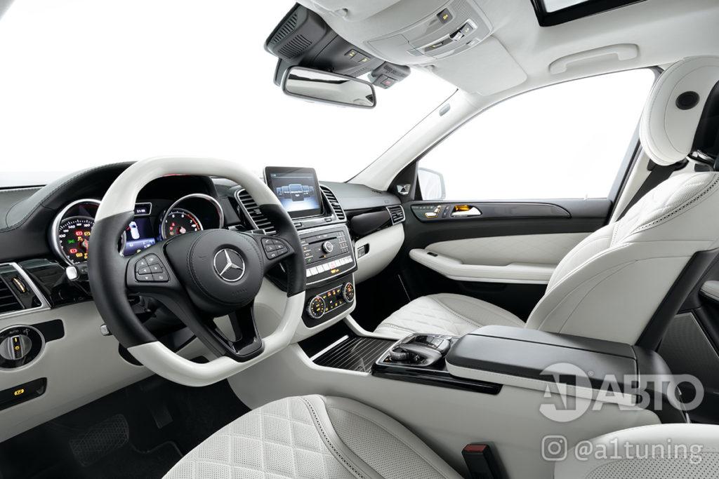 Тюнинг салона Mercedes Benz GLS. Фото 1, А1 Авто