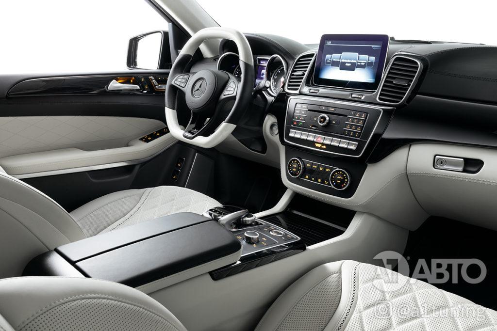 Тюнинг салона Mercedes Benz GLS. Фото 4, А1 Авто