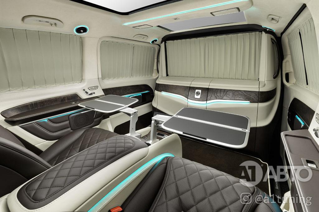 Салон Mercedes Benz V-Class VIP фото 2, А1 Авто