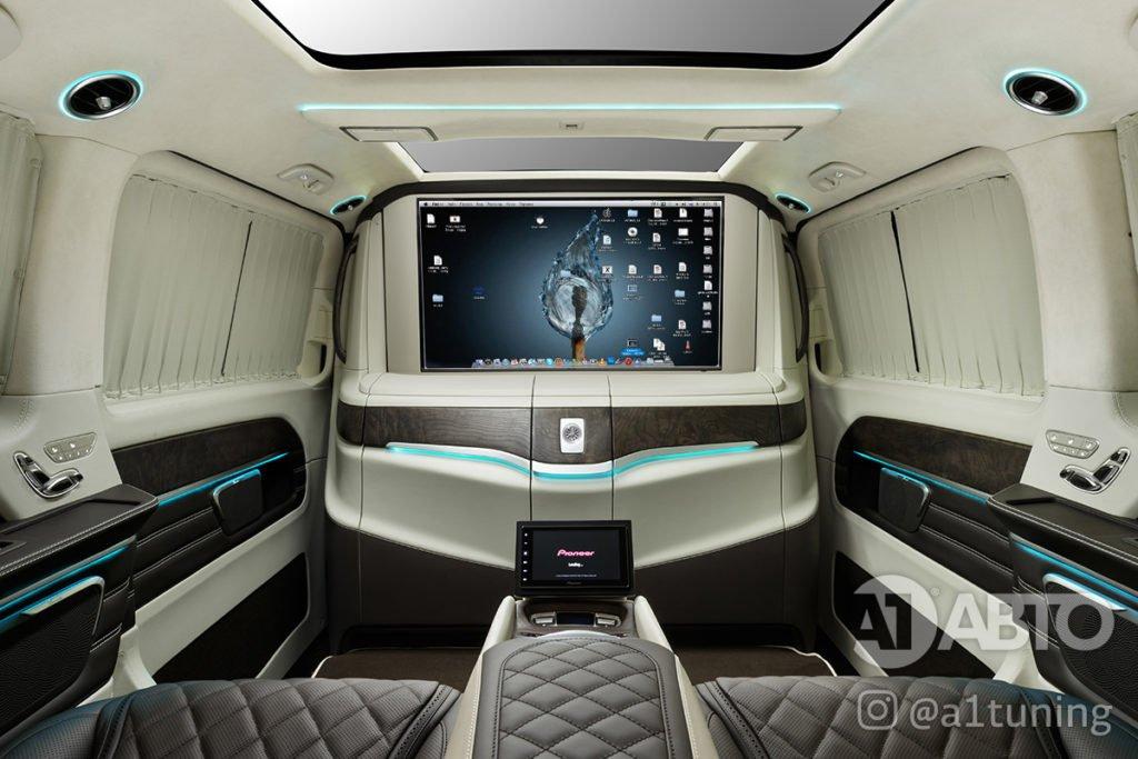 Салон Mercedes Benz V-Class VIP фото 3, А1 Авто