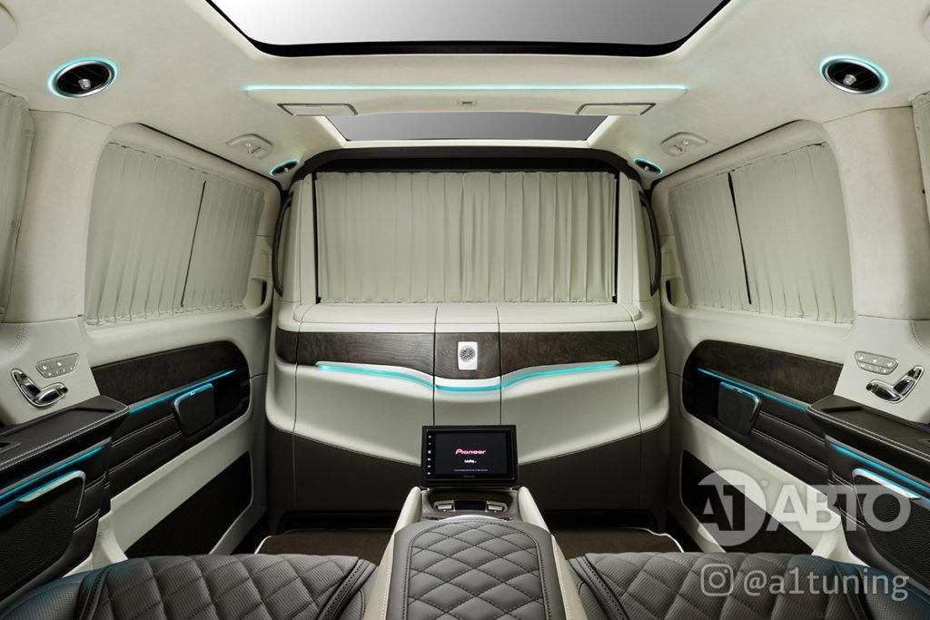Салон Mercedes Benz V-Class VIP фото 4, А1 Авто