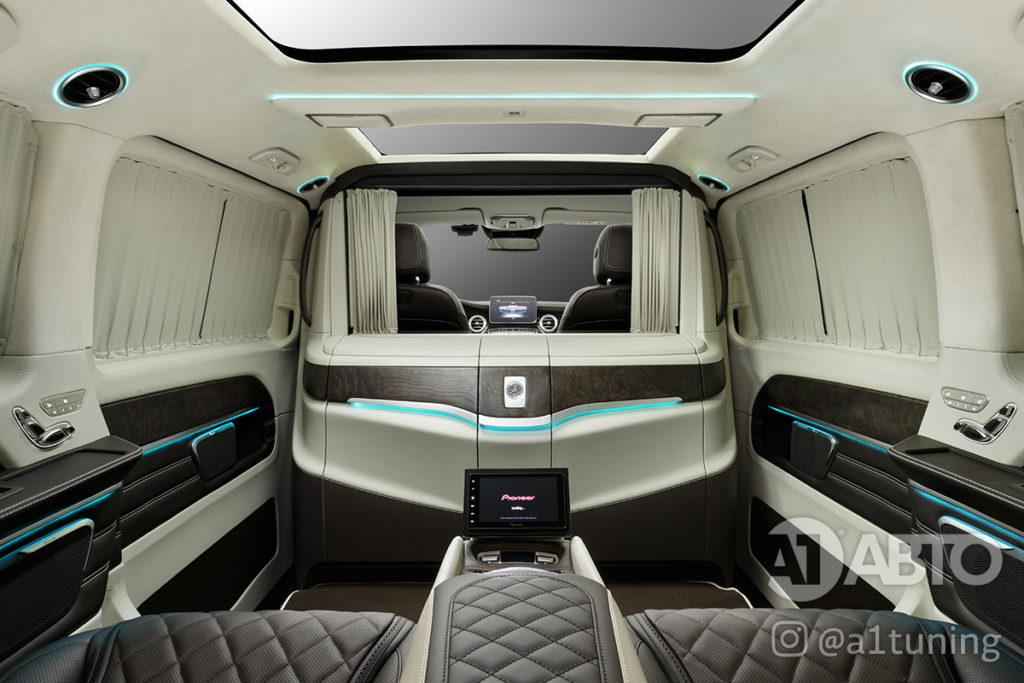 Салон Mercedes Benz V-Class VIP фото 5, А1 Авто