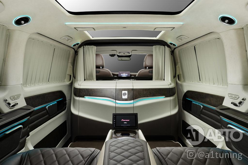 Салон Mercedes Benz V-Class VIP фото 6, А1 Авто