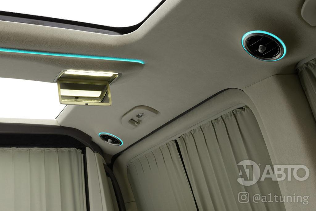 Cалон Mercedes Benz V-Class VIP. Фото 6, A1 Auto.