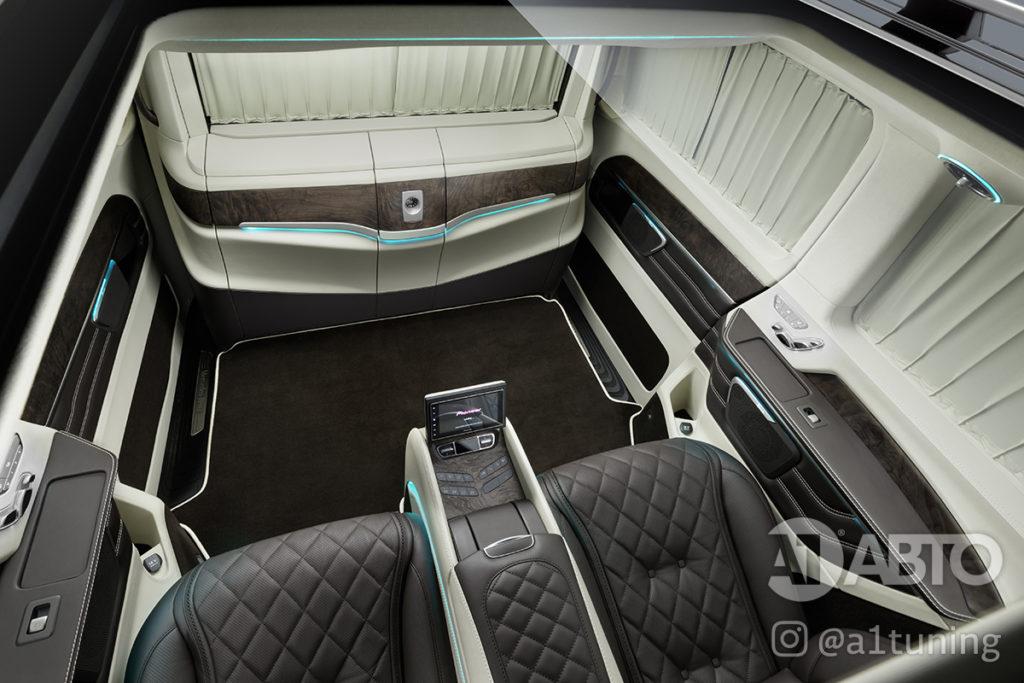 Cалон Mercedes Benz V-Class VIP. Фото 7, А1 Авто.