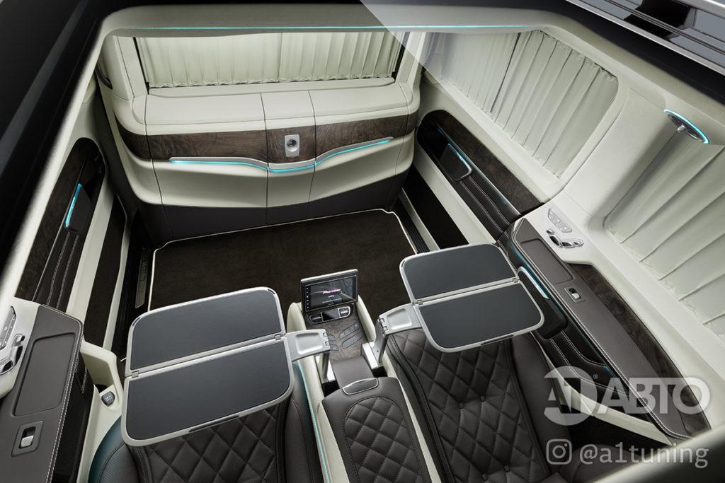 Cалон Mercedes Benz V-Class VIP. Фото 8, А1 Авто.