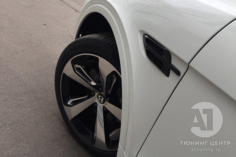 Покраска хромированных элементов кузова авто. Фото 8