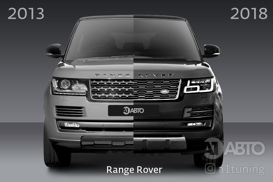 Рестайлинг Range Rover 2013-2018