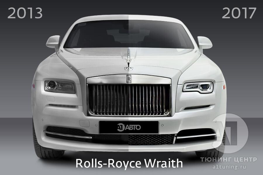 Рестайлинг Rolls Royce Wraith