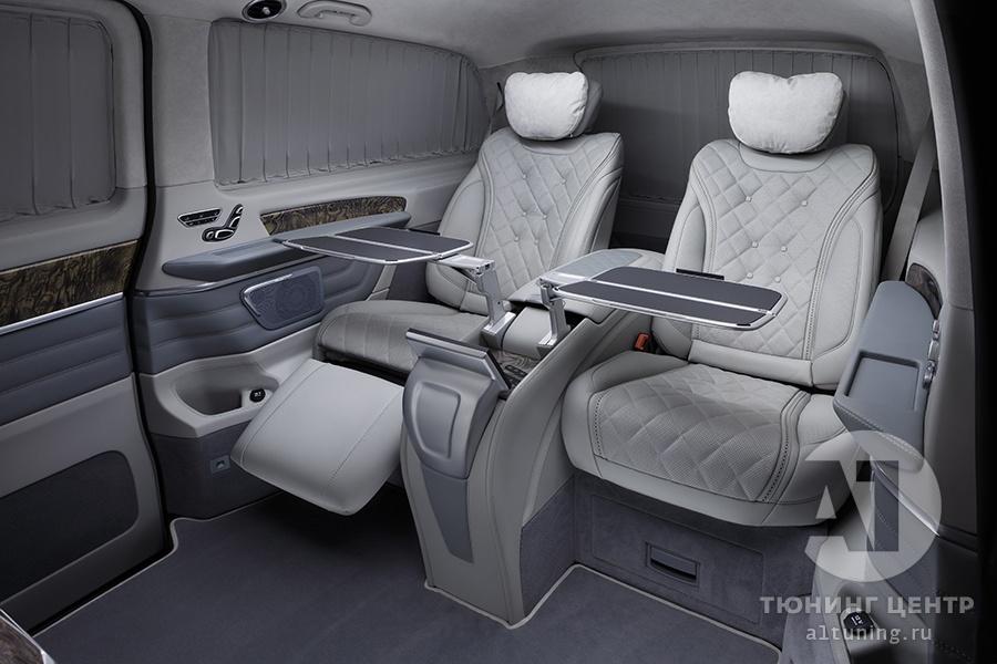 Комфортные кресла в V-class. Фото 12. А1 Авто