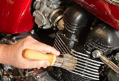 Бесконтактная мойка для мотоциклов. Фото 1