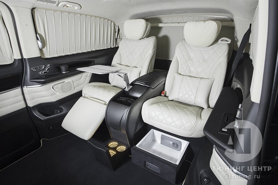 Тюнинг салона Mercedes Benz V-Class. Фото 5, А1 Авто