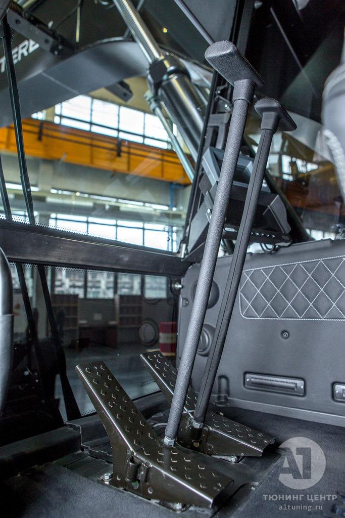 Тюнинг салона Экскаватора TX210 Black. Фото 12, А1 Авто