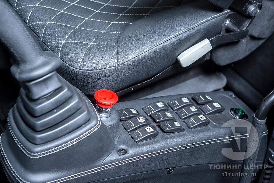 Тюнинг экскаватора TX 210, А1 Авто