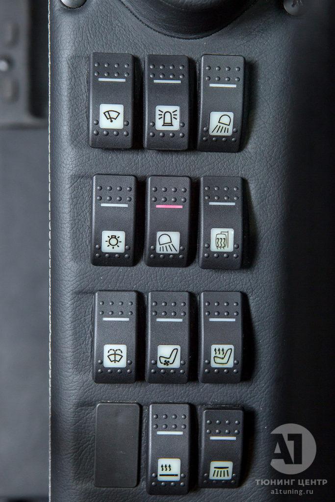 Тюнинг экскаватора TX 210, фото работ. А1 Авто