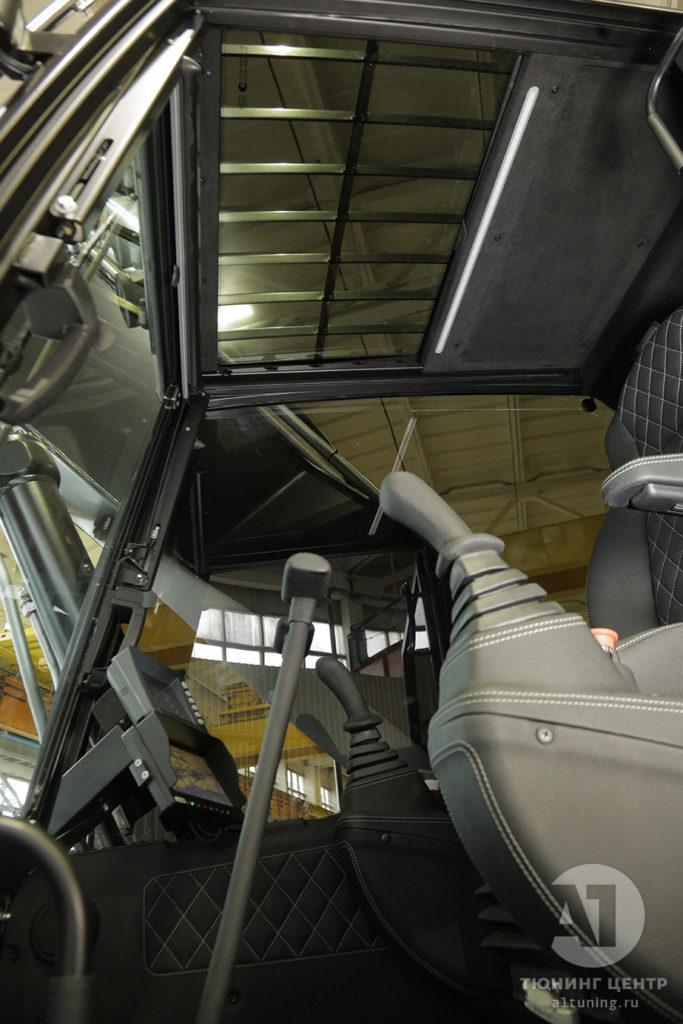 Тюнинг салона Экскаватора TX210 Black. Фото 9, А1 Авто