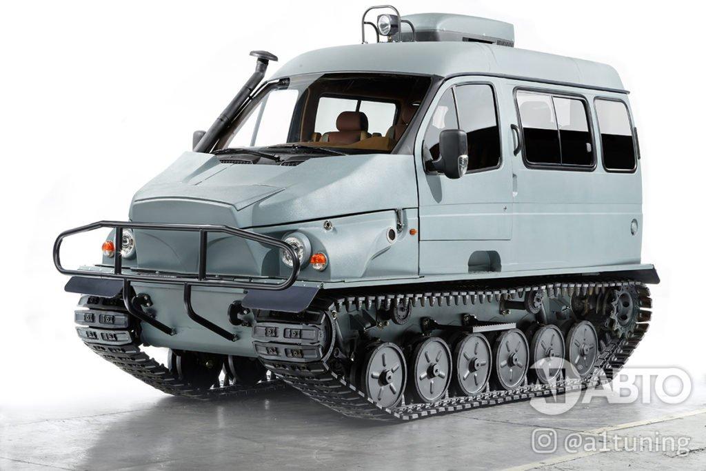 Снегоболотоход ГАЗ-3409 БОБР, А1 Авто