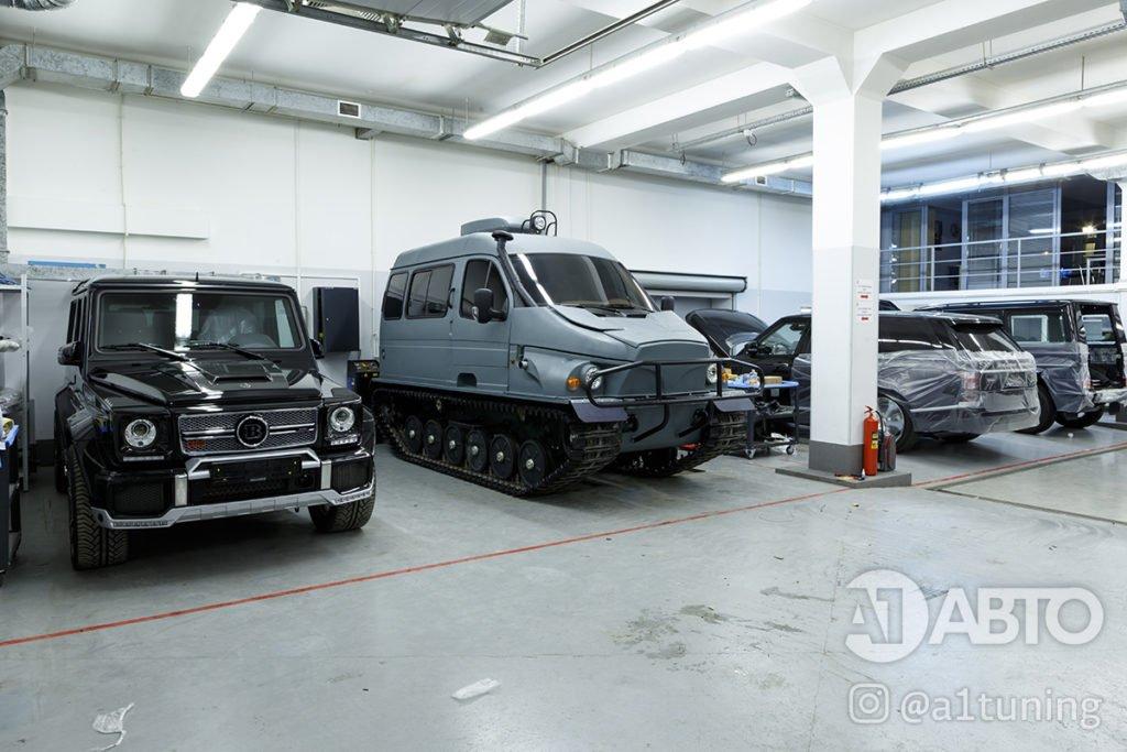 Тюнинг Снегоболотоход ГАЗ-3409 БОБР. Фото 16, А1 Авто