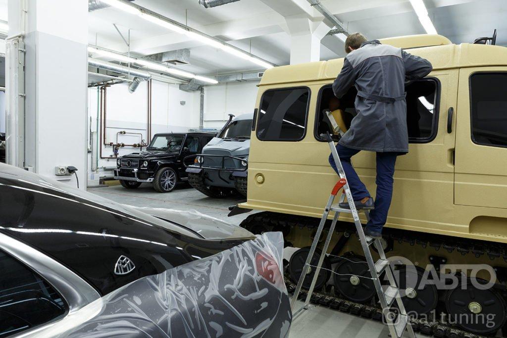 Тюнинг Снегоболотоход ГАЗ-3409 БОБР. Фото 15, А1 Авто