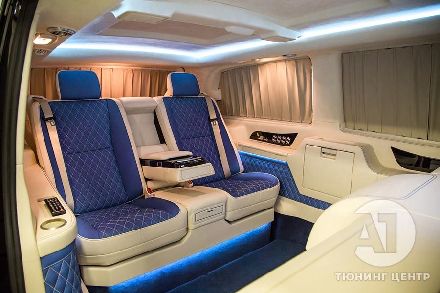 Тюнинг салона Mercedes Benz Viano VIP. Фото 25, А1 Авто